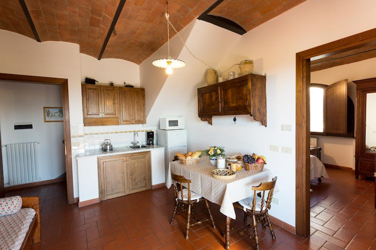 La Canigiana Chianti Vacation Apartments: self contained holiday home