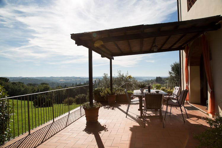 La Canigiana Chianti Vacation rentals with outdoor space for meals and relaxation