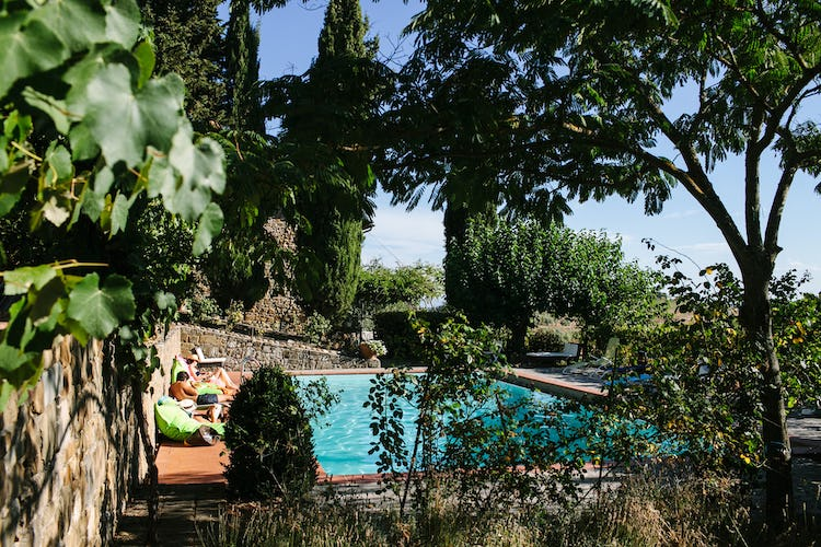 La Casa in Chianti: Surrounded by cypress & olive trees