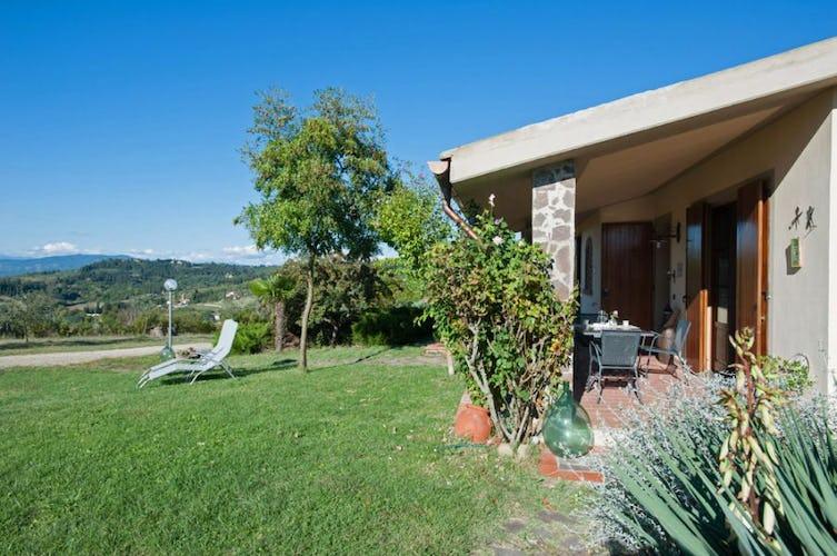 Ogni appartamento ha la sua area verde privata o una terrazza copert