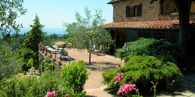 La Paggeria Bed and Breakfast Near Florence