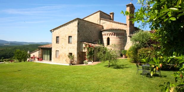 vacation home in ancient medieval parish church