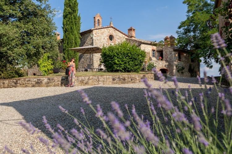 La Pieve Marsina: Fragrant gardens around the country house
