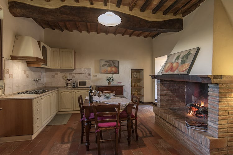 La Rocca di Cispiano: full kitchens for meals