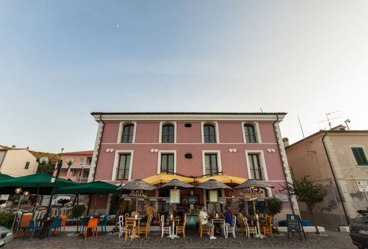 Restaurants, shops and cafes are all closeby at Vecchia Scuola on Elba