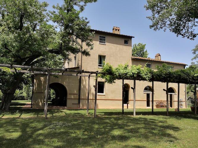 La Villa con gli Archi, villa di lusso e prestigio nel sud della Toscana