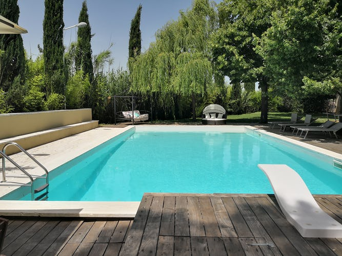 La Villa con gli Archi, villa per vacanze in Toscana vicino al litorale costiero