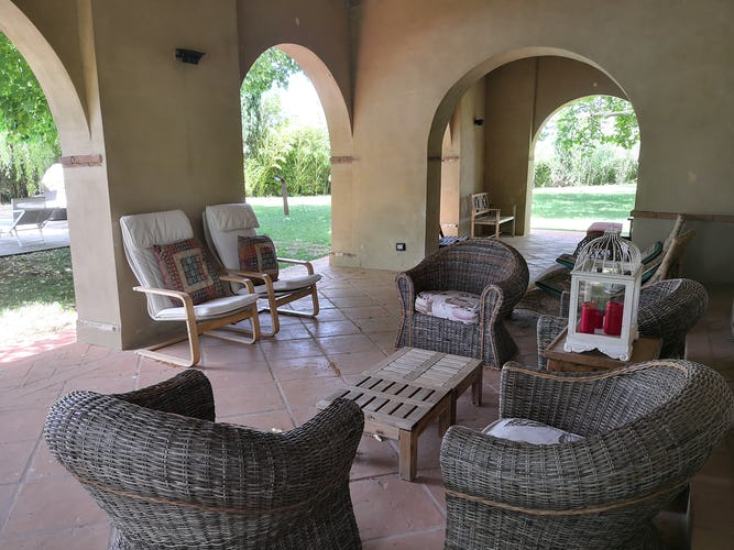 La Villa con gli Archi ed i suoi angoli pensati per potervi trascorrere del tempo in totale tranquillità