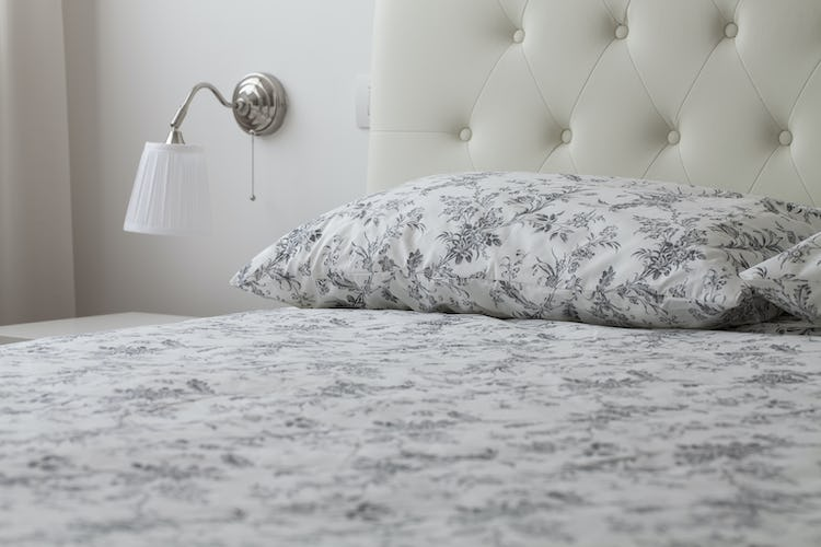 Refined elegance for the linens in all the bedrooms