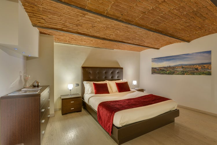 Loft le Murate Vacation Apartment: Double bedroom