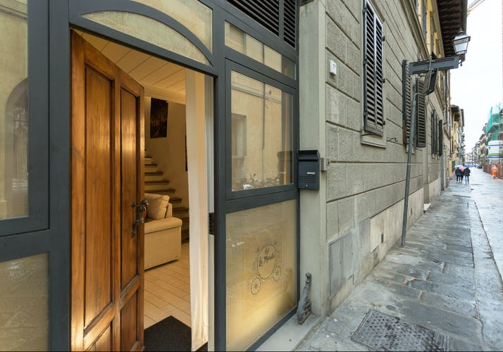Loft le Murate Vacation Apartment: Ground floor entrance