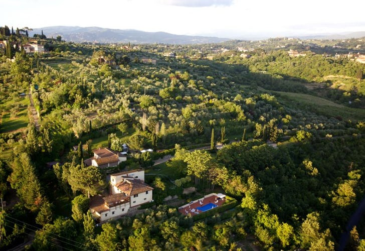The Marignolle Relais is close to Florence & Chianti