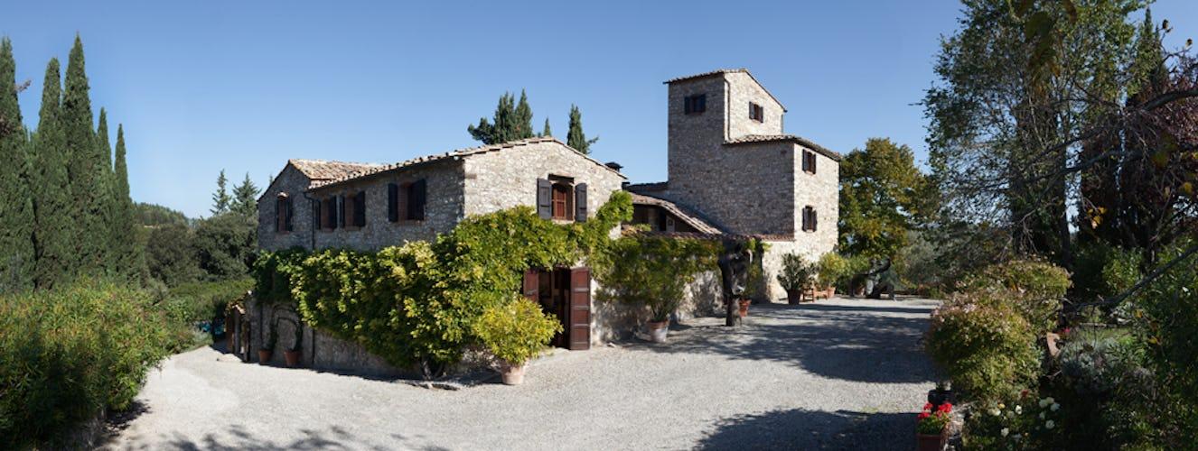 Nittardi è stata ristrutturata preservando la struttura originale