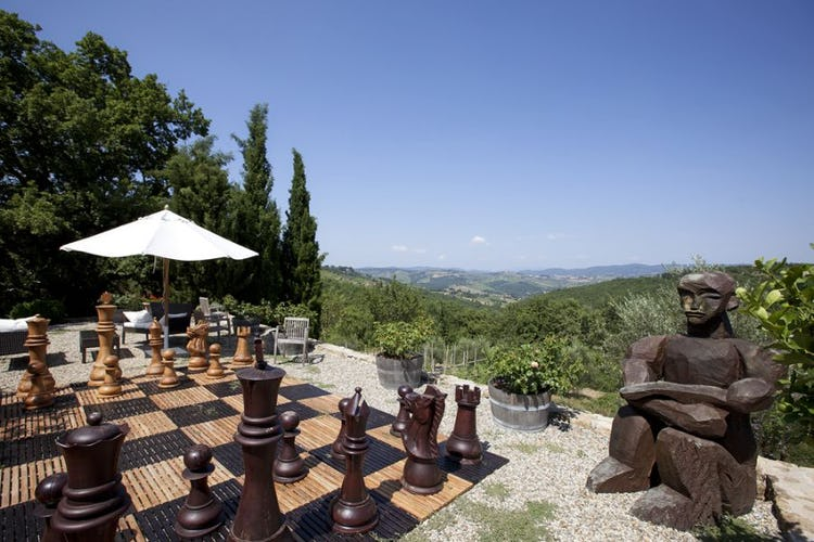 The sculpture garden around Nittardi