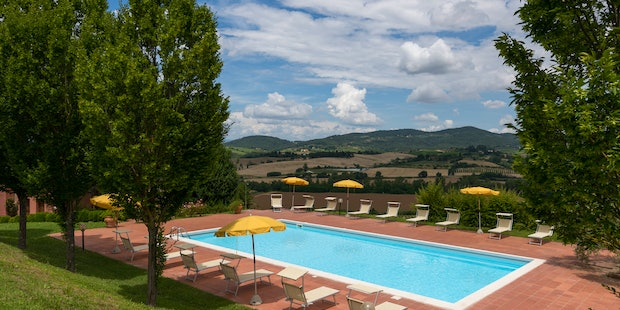 Holiday accommodation Podere Torricella near Florence & private pool
