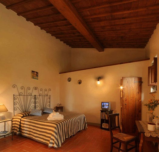 Double Room Poggio al Sole Tuscany Farmhouse