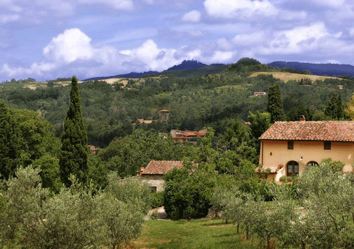 Rooms with view Florence Farmhouse Poggio al Sole
