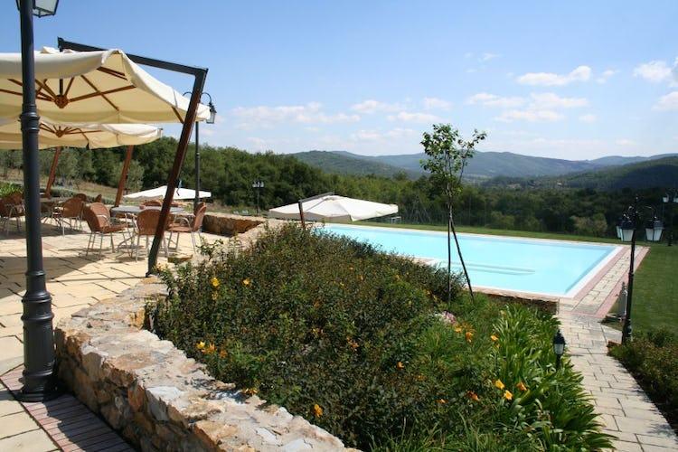 Swimming pool Poggio Cennina