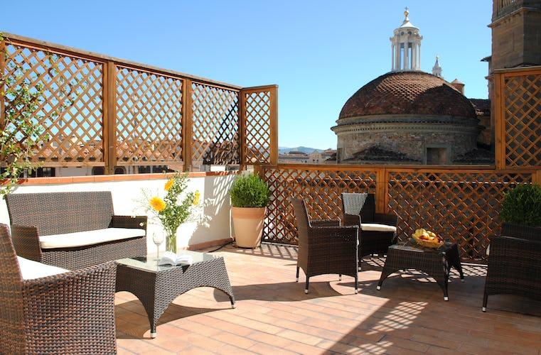 Residence la Medicea - Terrazza Panoramica