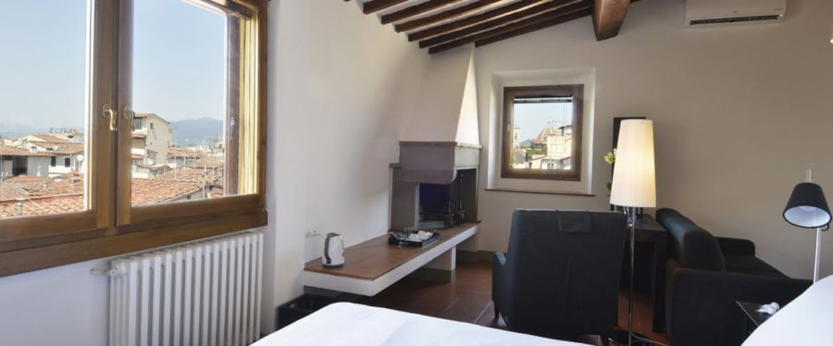 The Santo Spirito Suite with 360° panoramic views of Florence