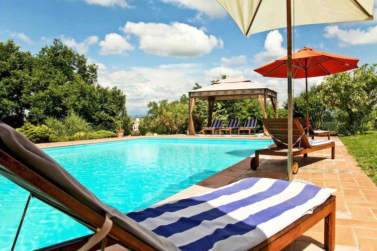Sant Andrea Cellole - Sdraio reclinabili con materassino a bordo piscina