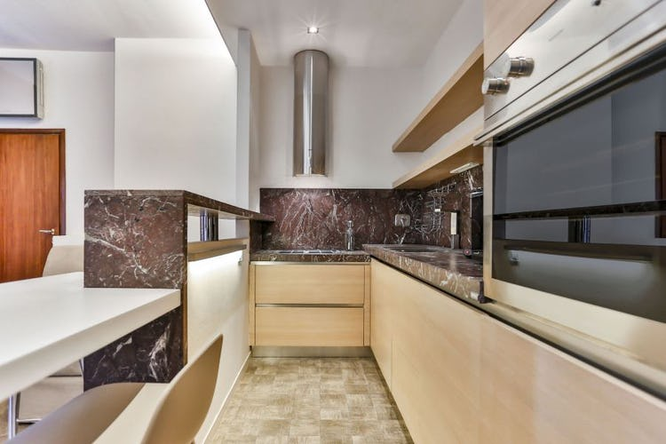 Santa Croce Apartment in Florence features a fully equipped kitchen