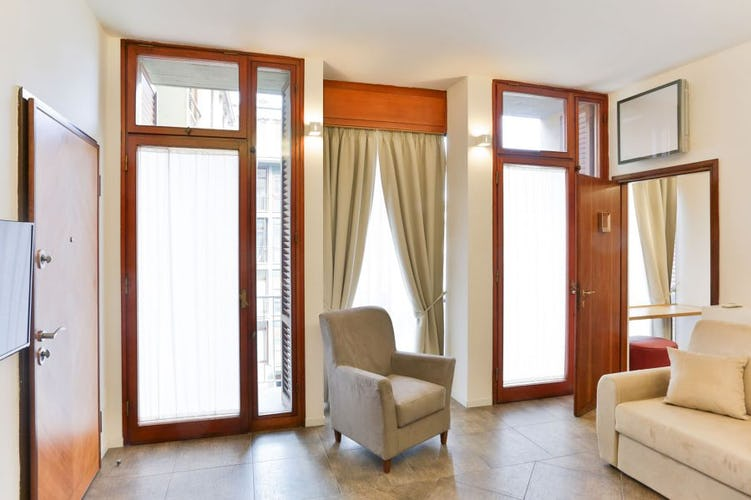 Ful size sofa bed at Santa Croce Vacation Apartment in Florence