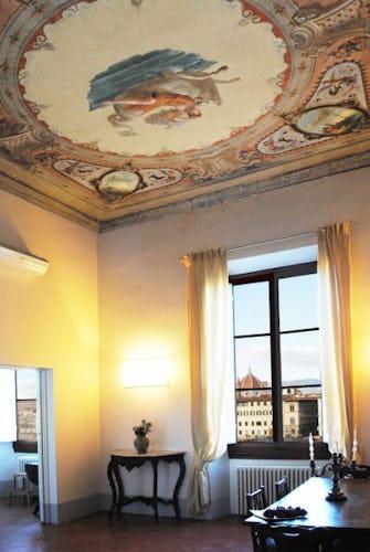 Sala da pranzo di Lungarno apartment
