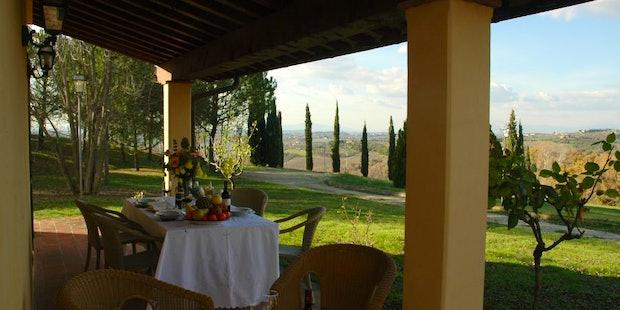 Tenuta Moriano Farmhouse in Chianti
