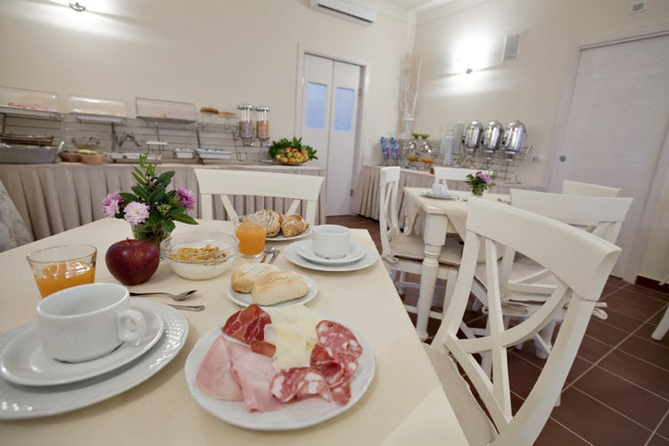 Tenuta Quadrifoglio: Bed and breakfast service available