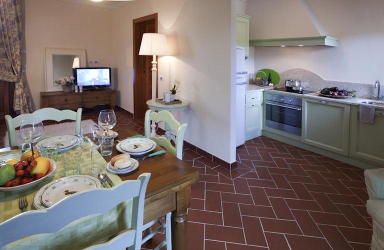Tenuta Quadrifoglio: Gli appartamenti sono dotati di ogni comfort, dal wifi alla TV SAT
