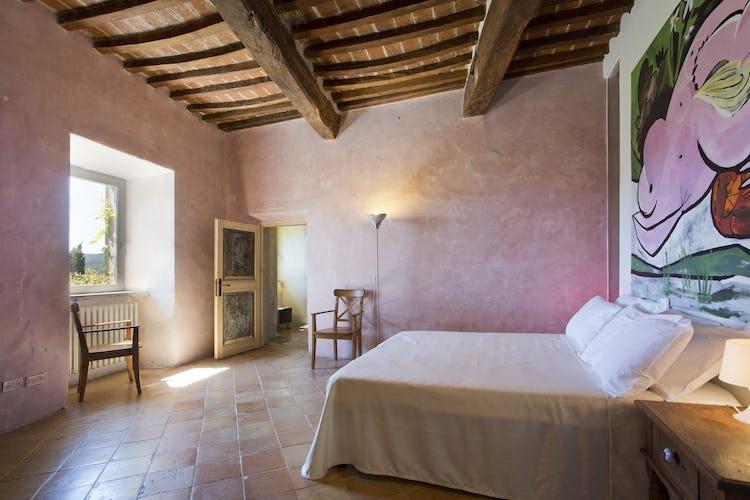 Terzo di Danciano: Double bedrooms
