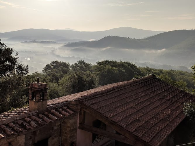 Terzo di Danciano: a great base between Florence and Siena
