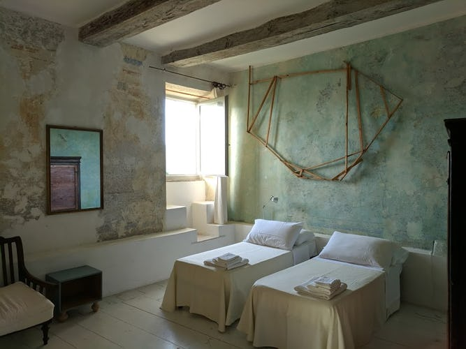 Terzo di Danciano: Suite with two single beds