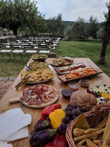 Terzo di Danciano: Catering for special events