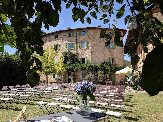 Terzo di Danciano: gardens perfect for wedding ceremonies