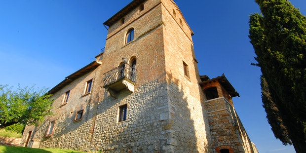 Holiday Apartments near San Gimignano at Torre Palagetto