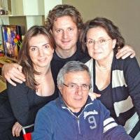 La Famiglia Nardi, proprietari di Villa Corsanello