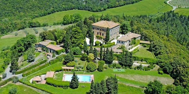 Villa di Lusso Ulignano Volterra in Toscana