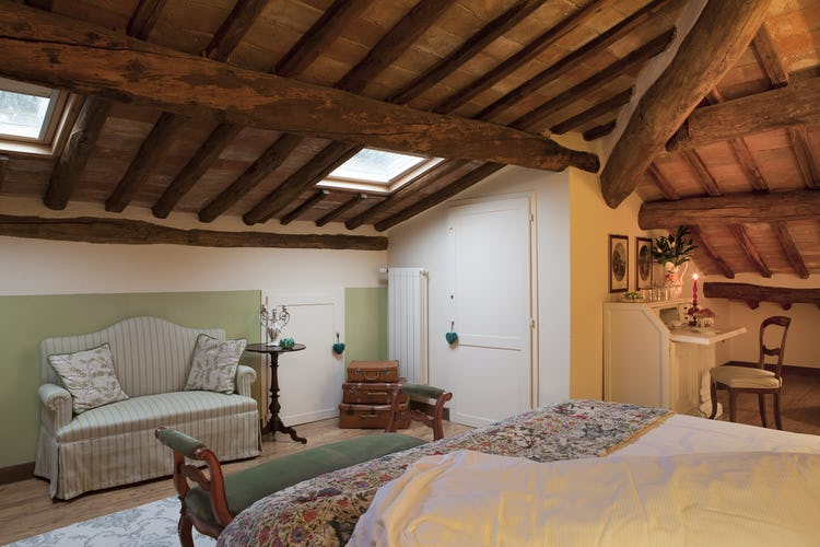 Villa Fillinelle: Double bedroom