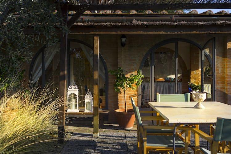 Villa Fillinelle: Private garden areas