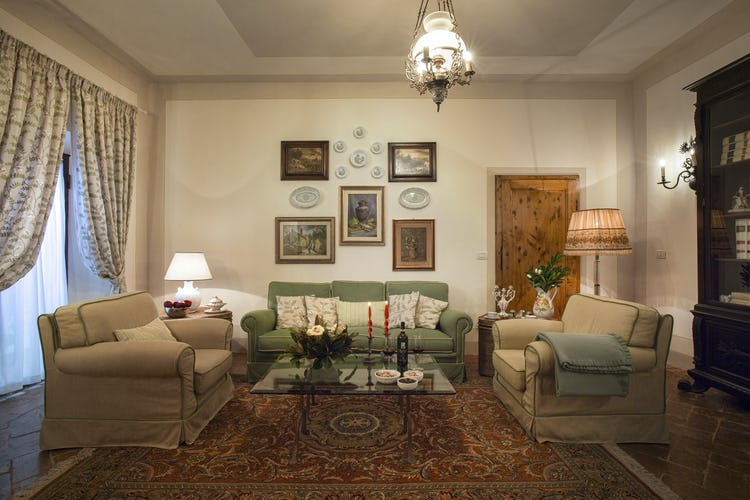 Villa Fillinelle: Inviting common areas