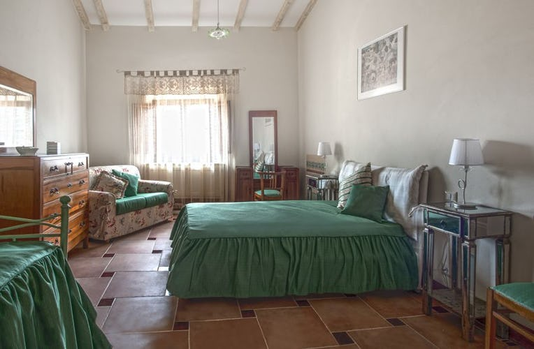 Entrambi gli appartamenti della villa hanno due camere matrimoniali