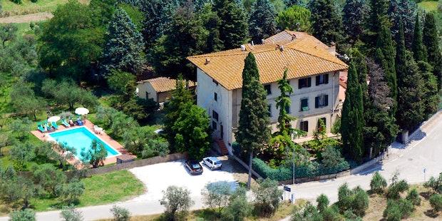 Panoramic Villa I Leoni Montespertoli