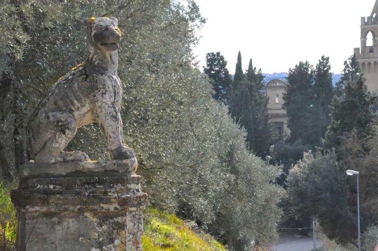 Le ville sono circondate dal bellissimo paesaggio della Toscana