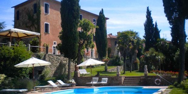 Villa Il Poggio,autentica residenza toscana con camere ed appartamenti