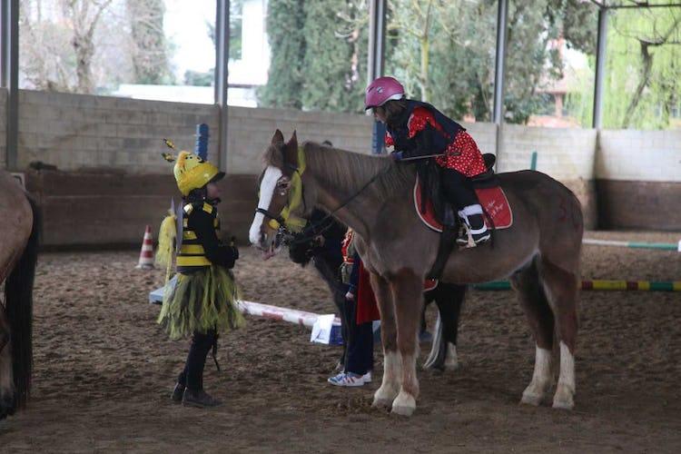 Escursioni a cavallo per grandi e piccini a Villa Il Poggio