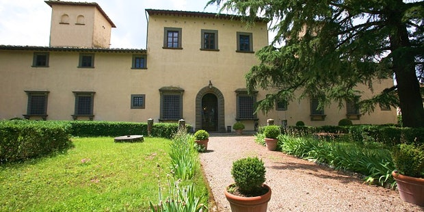 Prestigious Villa il Turco situated just outside of Montespertoli