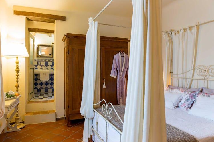 Villa La Fonte - Camera matrimoniale con bagno privato