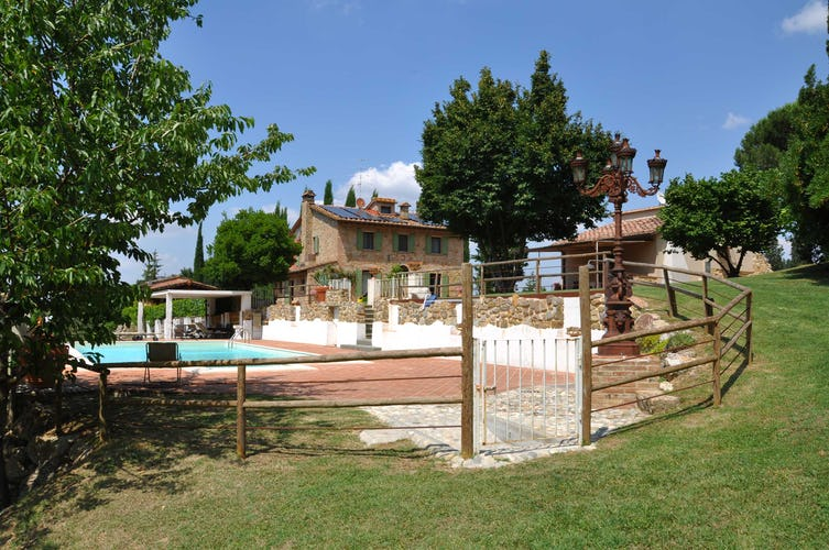 Villa La Fonte Vacation Rental - pool with child safe gate